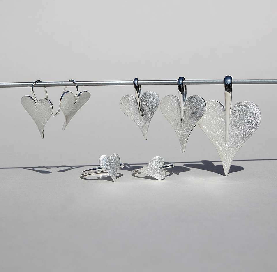 Silver Heart Collection